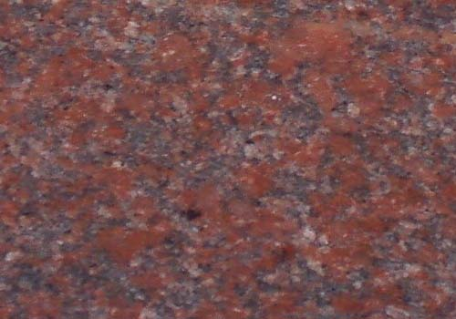 Ruby Red Granite : Marg stone